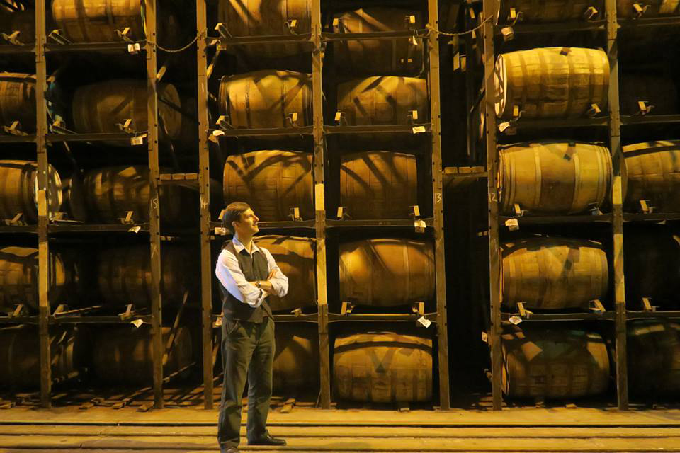 Breathing in the atmosphere of Bruichladdich's Warehouse 14