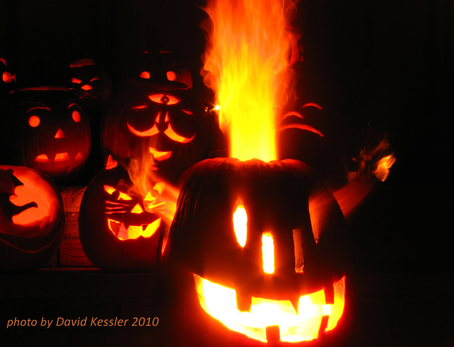 pumpkin carving, 2010