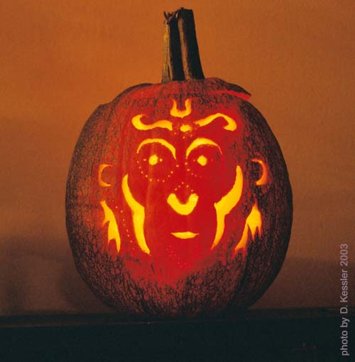 monkey king pumpkin, 2003