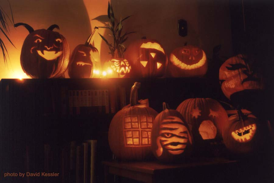 pumpkin carving 2001