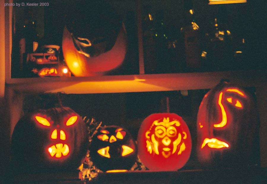 pumpkin carving 2003