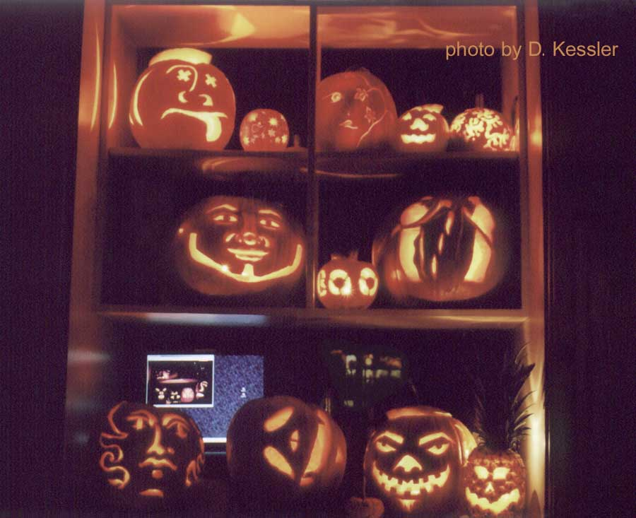 pumpkin carving 2004