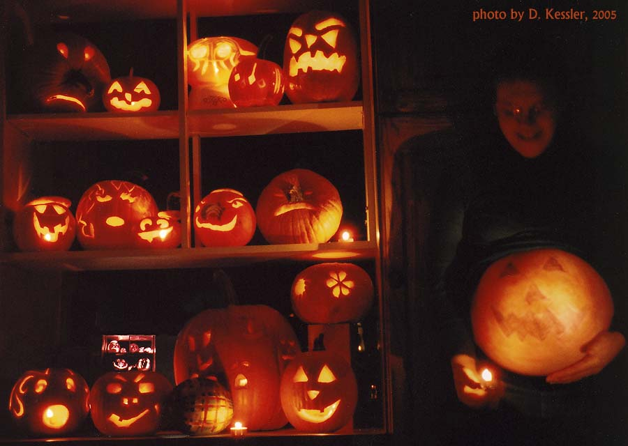 pumpkin carving, 2005