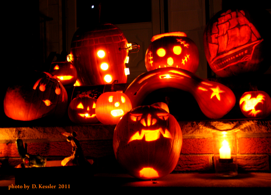 pumpkin carving, 2011