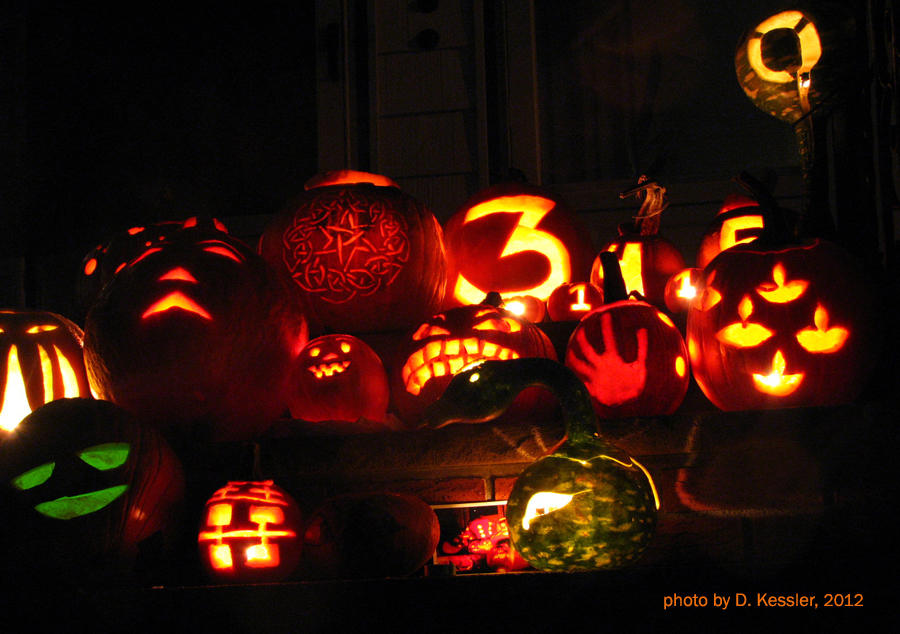 pumpkin carving, 2012