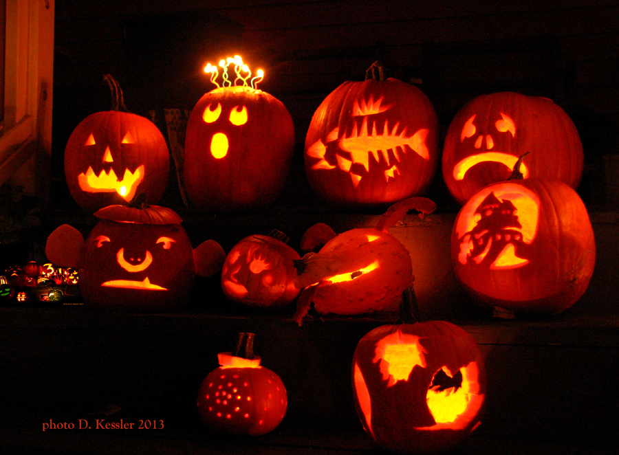 pumpkin carving, 2013