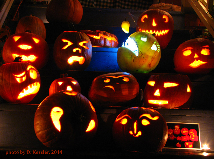 pumpkin carving, 2014
